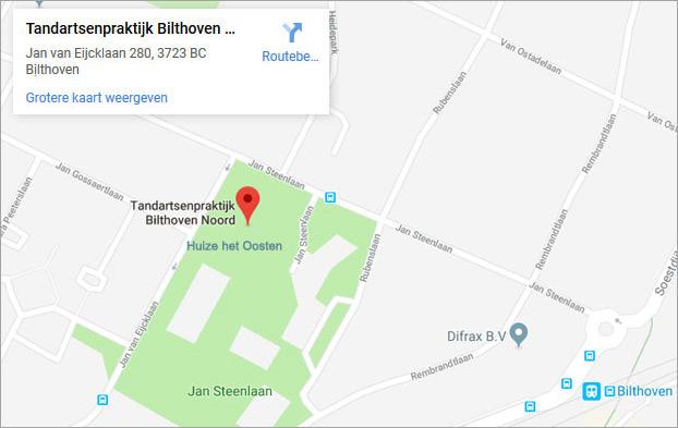 Tandartsenpraktijk Bilthoven Noord
